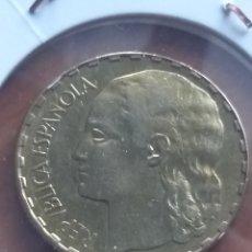 Monete Repubblica: 1 PESETA 1937, REPÚBLICA ESPAÑOLA. MBC+. Lote 222571110