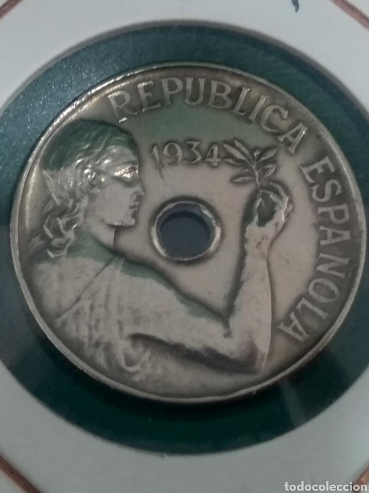 25 CÉNTIMOS, II REPÚBLICA. EBC (Numismática - España Modernas y Contemporáneas - República)