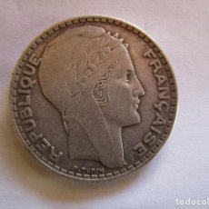 Monedas República: FRANCIA . 20 FRANCOS DE PLATA ANTIGUOS . 1934 . CALIDAD SIN CIRCULAR . MAGNIFICA PATINA. Lote 222627086