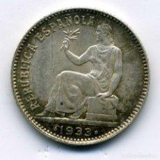 Monedas República: 1 PESETA 1933 (*3-4) EBC. Lote 222682255