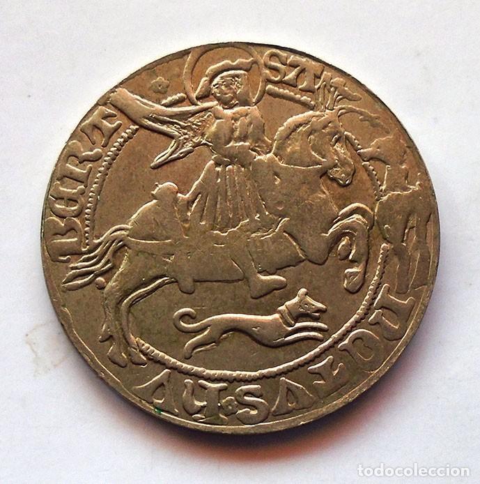 MONEDA MEDIEVAL A IDENTIFICAR . DIAMETRO 35MM. (Numismática - España Modernas y Contemporáneas - República)