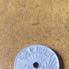 Monedas República: 25 CÉNTIMOS 1937. Lote 223201765