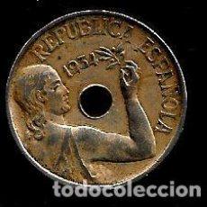 Monete Repubblica: MONEDA DE 25 CENTIMOS - REPUBLICA - 1934. Lote 223363307