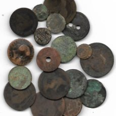 Monete Repubblica: LOTE DE MONEDAS PARA LIMPIAR Y CATALOGAR. Lote 224468512