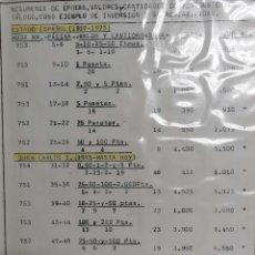 Monedas República: COLECCION MONEDAS DESDE 1936 HASTA 1993. Lote 226224145