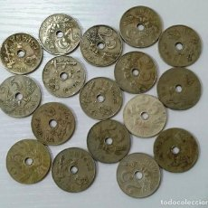 Monedas República: 25 CÉNTIMOS DE 1927 LOTE DE 17 MONEDAS.. Lote 226281551