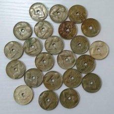 Monedas República: 25 CÉNTIMOS DE 1934 LOTE DE 23 MONEDAS.. Lote 226282200