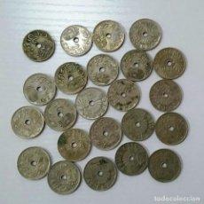 Monedas República: 25 CÉNTIMOS DE 1937 LOTE DE 23 MONEDAS.. Lote 226282230