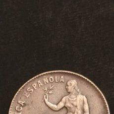 Monedas República: 50 CÉNTIMOS ORLAS CUADRADAS. Lote 227724141