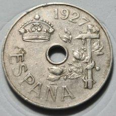 Monedas República: 25 CENTIMOS 1927. Lote 228005475