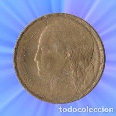 Monedas República: 1 PESETA 1937 II REPUBLICA XXX. Lote 229607045