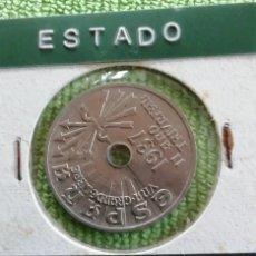 Monedas República: 25 CENTIMOS DE 1937. SIN CIRCULAR.. ESTADO ESPAÑOL. Lote 231766995
