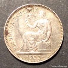 Monedas República: 1 PESETA REPUBLICA ESPAÑOLA 1933. *3=4.. Lote 233001485