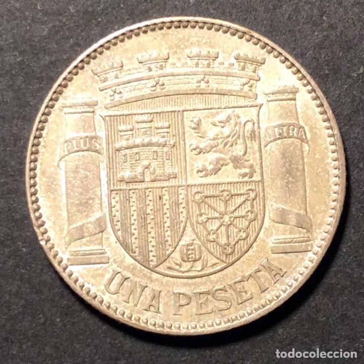Monedas República: 1 Peseta Republica Española 1933. *3=4. - Foto 2 - 233001810