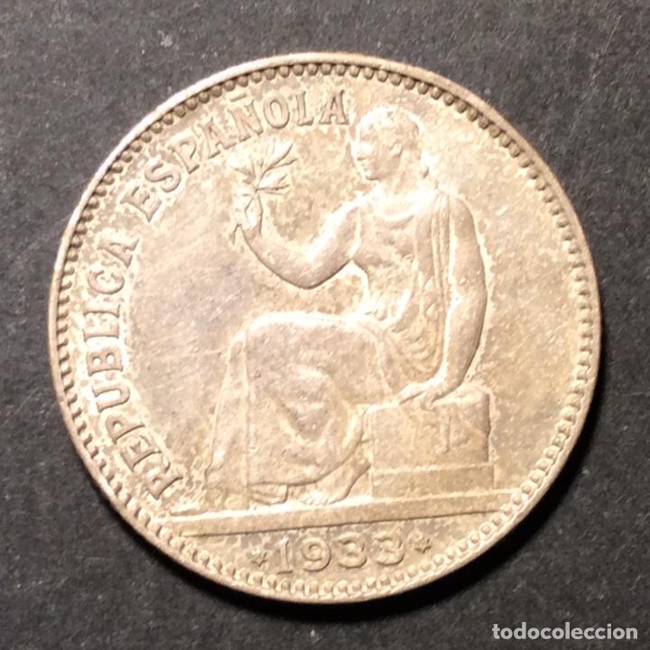 1 PESETA REPUBLICA ESPAÑOLA 1933. *3=4. (Numismática - España Modernas y Contemporáneas - República)