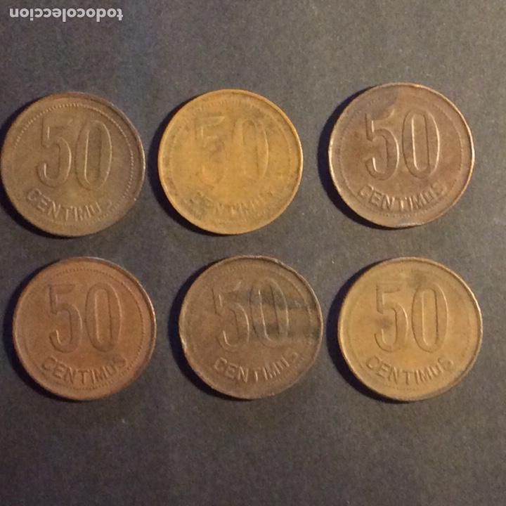 Monedas República: 50 CÉNTIMOS 1937. Republica Española. Cobre. Madrid. (6) - Foto 2 - 233010100