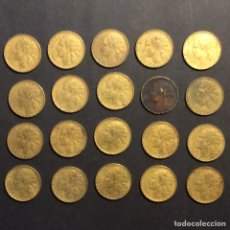 """Monedas República: 1 PESETA """" LA RUBIA"""" REPUBLICA ESPAÑOLA 1937 (20). Lote 233017015"""
