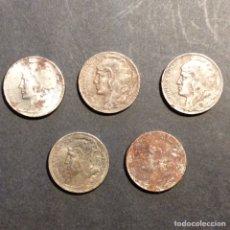 Monedas República: 5 CÉNTIMOS REPUBLICA ESPAÑOLA 1937 (5). Lote 233020410
