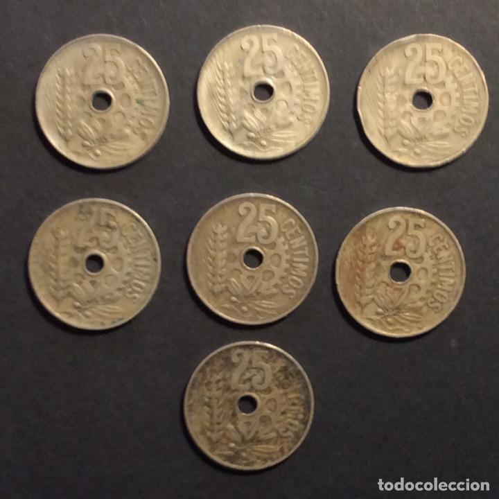 Monedas República: 25 CÉNTIMOS REPUBLICA ESPAÑOLA. 1934(6) - Foto 2 - 233023710