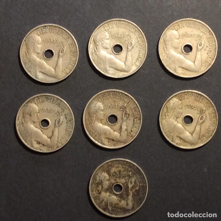 25 CÉNTIMOS REPUBLICA ESPAÑOLA. 1934(6) (Numismática - España Modernas y Contemporáneas - República)