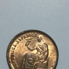 Monedas República: MONEDA DE 50 CENTIMOS DE 1937*3*4. ESTRELLAS PERFECTAS Y CON GRAN PARTE DEL BRILLO ORIGINAL. Lote 236007065