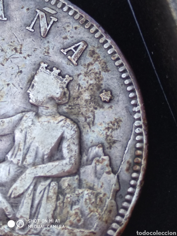 Monedas República: Moneda original 5 Pesetas 1870 *18*70 Madrid SN M., Muy bien conservada - Foto 47 - 237810600
