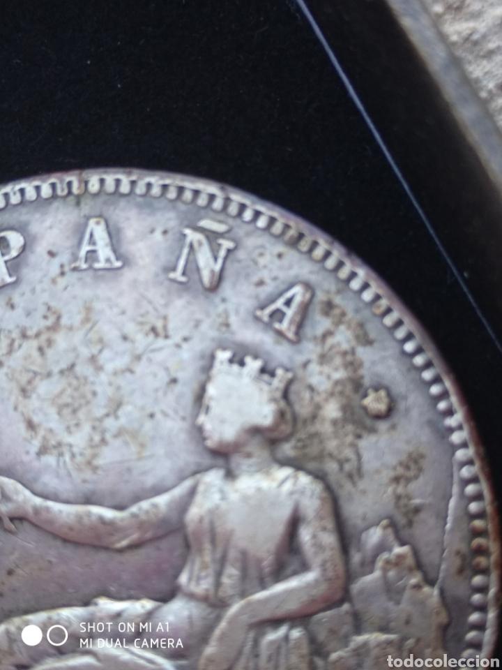 Monedas República: Moneda original 5 Pesetas 1870 *18*70 Madrid SN M., Muy bien conservada - Foto 54 - 237810600