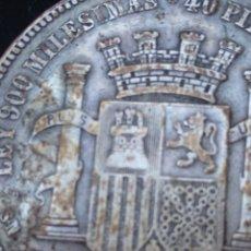 Monedas República: MONEDA ORIGINAL 5 PESETAS 1870 *18*70 MADRID SN M., MUY BIEN CONSERVADA. Lote 237810600