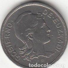 Monedas República: II REPUBLICA: 2 PESETAS 1937 EUZKADI ( GUERRA CIVIL ). Lote 214240882