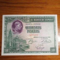 Monedas República: BILLETE 500 PESETAS DE 1928. SIN CIRCULAR. Lote 242007515