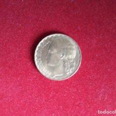 Monedas República: MONEDA 1 PTA REPUBLICA EBC/SC ESPAÑA 1937. Lote 243017155