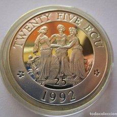 Monedas República: REINO UNIDO . 25 ECU DE 1992 . MONEDA DE PLATA EN MAXIMA CALIDAD . ESCASA. Lote 244606900