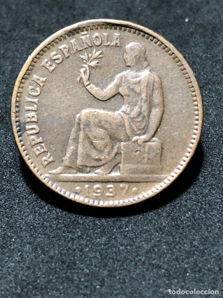 MONEDA DE 50 CÉNTIMOS 1937 - II REPÚBLICA ESPAÑOLA (Numismática - España Modernas y Contemporáneas - República)