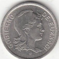 Monedas República: GUERRA CIVIL: 2 PESETAS 1937 EUZKADI. Lote 245047915