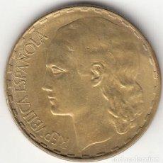 Monedas República: II REPUBLICA: 1 PESETA 1937. Lote 245072805