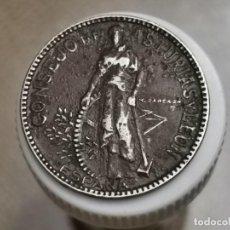 Monedas República: ESPAÑA - GUERRA CIVIL2PESETAS,1937. Lote 245309985