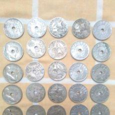 Monedas República: LOTE MONEDAS REPUBLICA ESPAÑOLA 1927,1934,1937.HAY PUPURRI.SIN REVISAR. Lote 245360990
