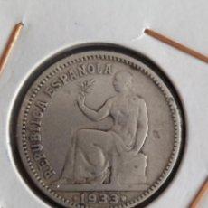 Monedas República: 1 PESETA DE 1933 ..MUY BONITA......ES EL DE LAS FOTOS. Lote 246020250