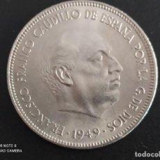 Monedas República: 5 PTAS DE 1949 *19 *50....MUY BONITA........ES EL DE LAS FOTOS. Lote 246020650