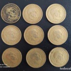 Monedas República: SERIE DE 1 PTA DE 1966 (*67,*68,*69,*70,*71,*72,*73,*74 Y ,*75).. BONITAS.......ES EL DE LAS FOTOS. Lote 246020795