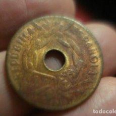 Monedas República: ESPAÑA MONEDA REPUBLICA 25 CENTIMOS 1938 - MIRA MAS DE ESTE PAIS. Lote 247247105