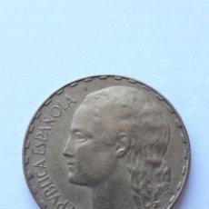 Monedas República: 1 PESETA LA RUBIA 1937 PESETA MONEDA ESPAÑA. Lote 248492030