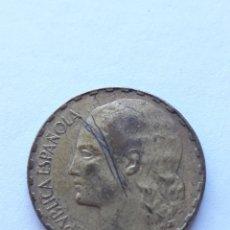 Monedas República: 1 PESETA LA RUBIA 1937 PESETA MONEDA ESPAÑA. Lote 248492245