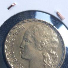 """Monete Repubblica: 1937, LA """"RUBIA"""", PESETA DE LA REPUBLICA ESPAÑOLA. Lote 249343280"""