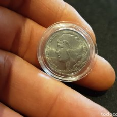 Monete Repubblica: MONEDA 5 CENTIMOS 1937 HIERRO SEGUNDA REPÚBLICA ESPAÑOLA SIN CIRCULAR Y ENCAPSULADA. Lote 263107845