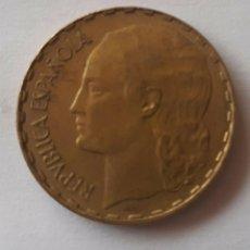 Monedas República: ESPAÑA 1 PESETA 1937. Lote 251314730