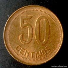 Monedas República: REPUBLICA ESPAÑOLA-50 CÉNTIMOS-1937. N070. Lote 252432365