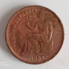 Monedas República: 50 CENTIMOS DE 1937.....MUY BONITA......ES LA.DE LAS FOTOS. Lote 253441485