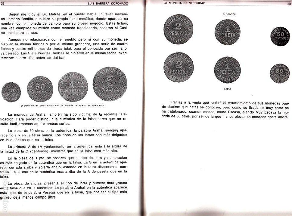 Monedas República: AYUNTAMIENTO DE ARAHAL: MONEDA DE 50 CENTIMOS - Foto 3 - 173845790