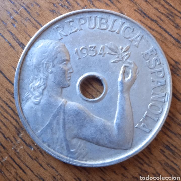 25 CENTIMOS 1934 (Numismática - España Modernas y Contemporáneas - República)